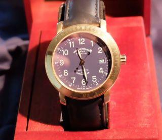 Mühle Herrenuhr Marinefliegeruhr - Chronometer M2 750gold Bild