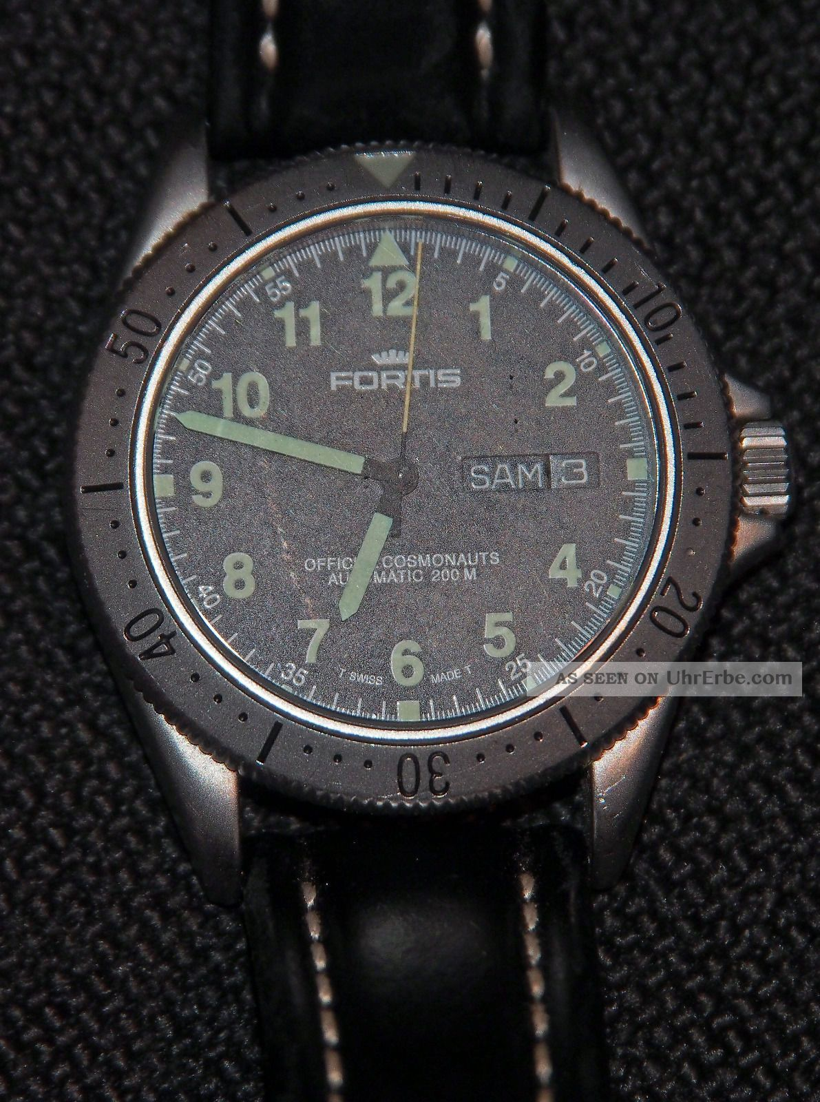 Fortis Official Cosmonauts Daydate Automatik 200 M Mit Papieren Armbanduhren Bild