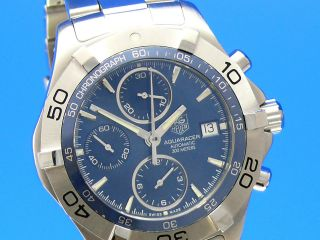 Tag Heuer Aquaracer Date Chronograph 41 Mm Caf2112 Vom Uhrencenter Berlin Bild