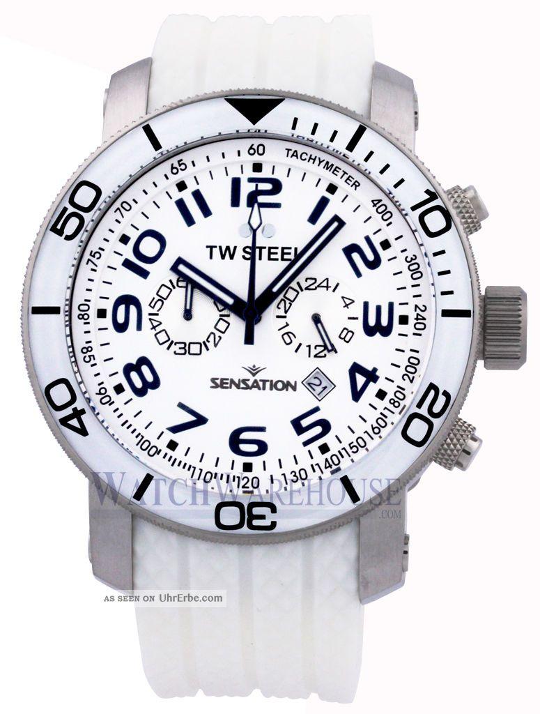 Tw835 Tw Stahl Sensation 48mm Chronograph Herrenuhr Im Angebot Jetzt Armbanduhren Bild