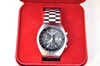 Omega Speedmaster Mark 4,  5 Chronograph Armbanduhr Edelstahl Bild