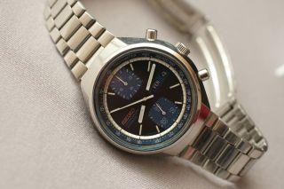 Seiko Automatic 6138 - 8030 Chronograph Sehr Gute Erhaltung Aus Sammlung Bild