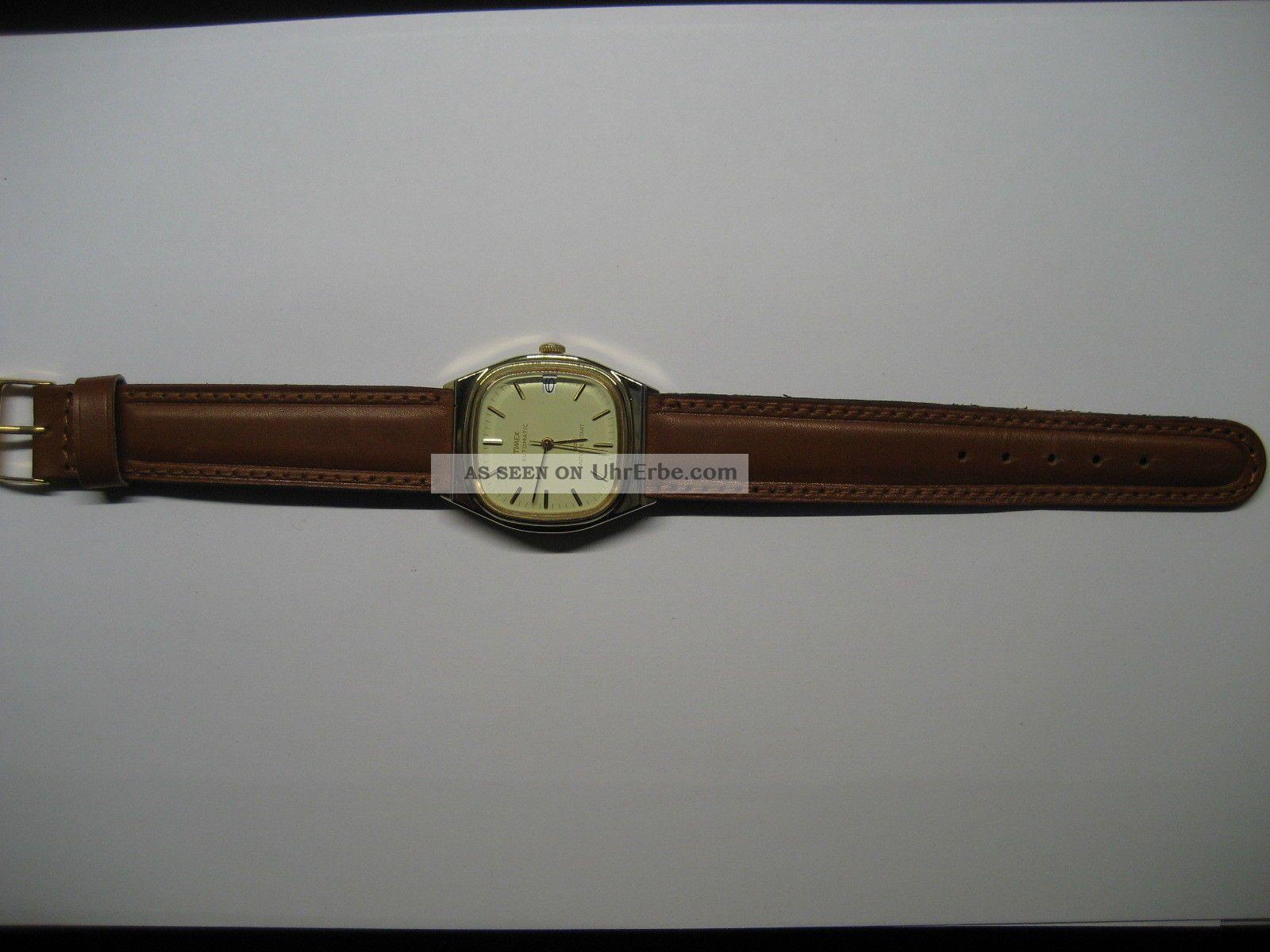 Erhaltene Timex Automatic Herrenarmbanduhr Armbanduhren Bild