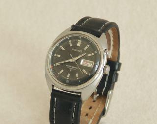 Rarität Seiko Bell Matic Automatic Armbanduhr Datum U.  Alarm Uhr Wrist Watch 1a Bild