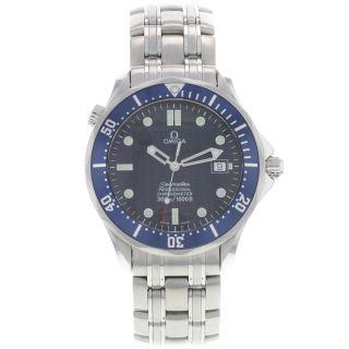 Omega Herren Armbanduhr Seamaster 2531.  80.  00 Edelstahl Volle Größe Automatik Uhr Bild