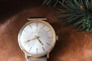 Herren Luxus - Uhr Eterna Matic 1000 Armbanduhr 585/gold Bild