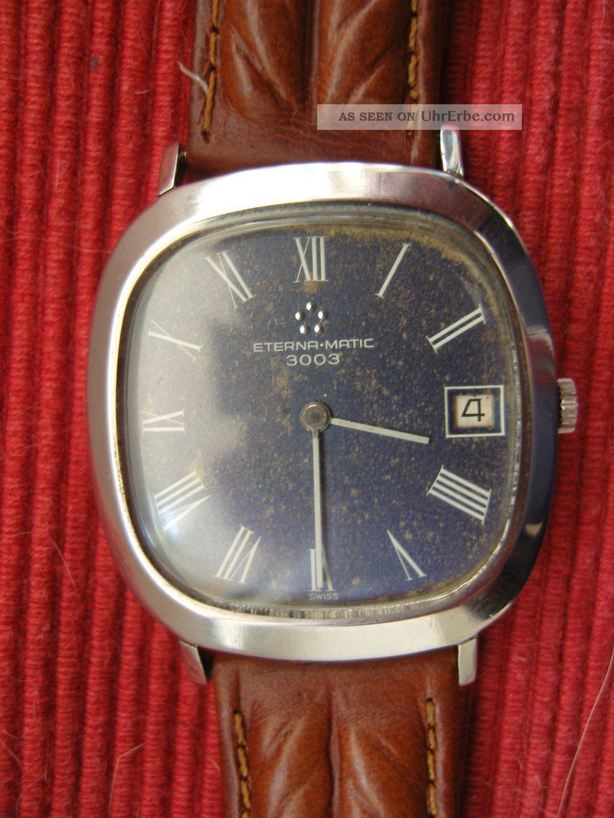 Eterna Matic 3003 Armbanduhren Bild