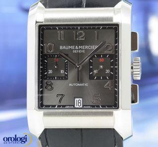 Baume & Mercier Hampton Xl Chronograph Automatik Ref.  M0a10030,  Box & Papier Bild