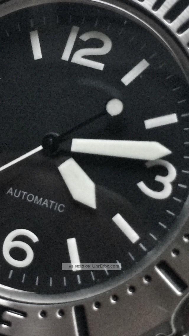 Seiko Sinn Monster Mod.  Einmalig Sinn Ziffernblatt Und Seiko Monster Gehäuse Armbanduhren Bild