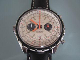 Breitling Chronomat Automatic 1808,  Werk: Cal.  11,  Bj.  1969 Chrono - Matic Bild