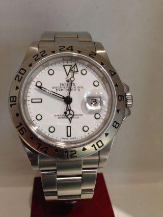 Rolex Explorer Ii Aus 2007 Ohne Papiere In Bild
