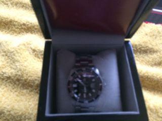 Carucci Herren Uhr Automatik Uhr Schwarz Silber Armbanduhr Men ' S Watch Ca2185bk Bild