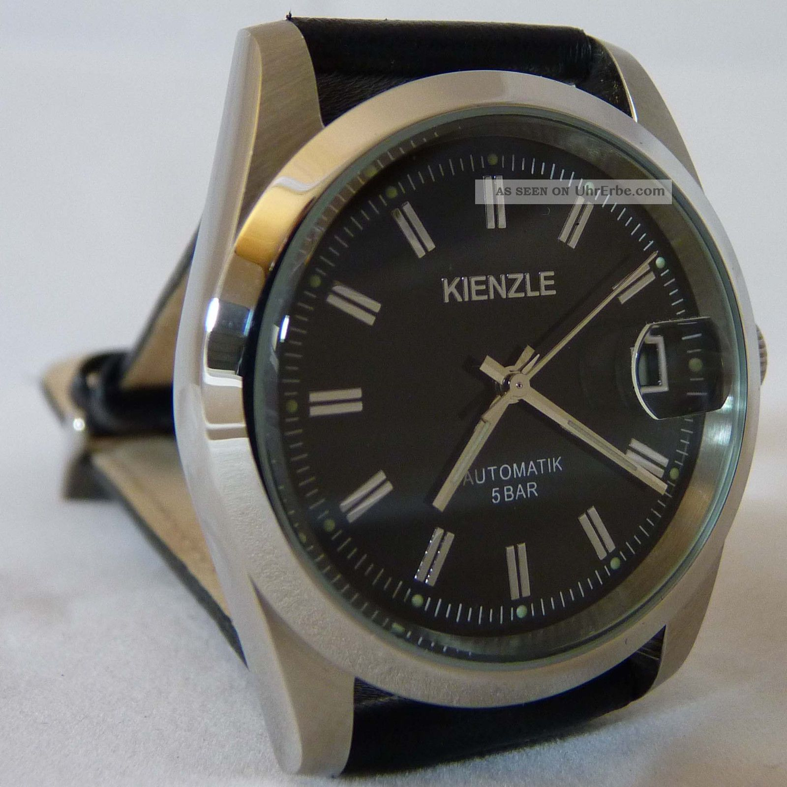 Kienzle Damen Armbanduhr Automatik Miyota Mit Lederarmband Und Datumsanzeige Armbanduhren Bild