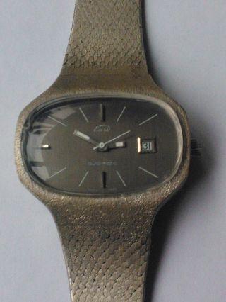 Eusi Automatic Herrenuhr Hau Massiv Silber 835 Armbanduhr Liebhaberstück Top Bild