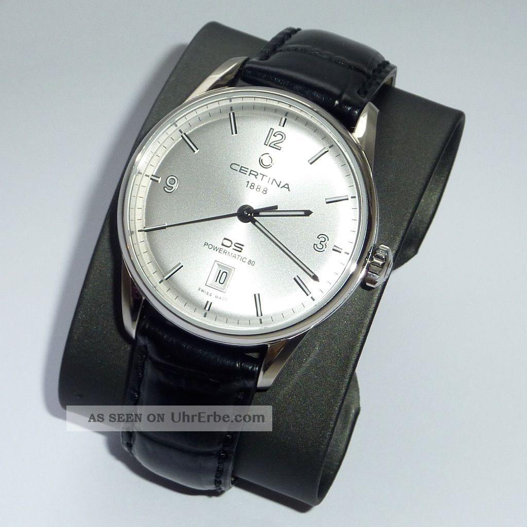 Herren Automatik Armbanduhr Certina Ds Powermatic 80 Ref.  C026.  407.  16.  037.  00 Armbanduhren Bild
