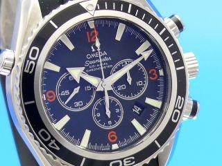 Omega Seamaster Planet Ocean Chronograph - - - Ankauf Von Luxusuhren 030/79014692 Bild