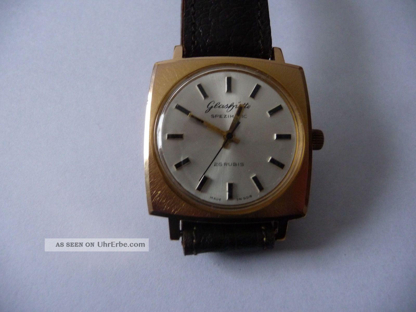 Glashütte Spezimatic Armbanduhren Bild