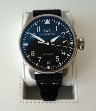 Iwc Grosse Fliegeruhr Iw500901 Armbanduhr Für Herren Bild