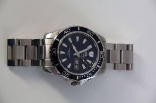 Orient Automatik Herren Armbanduhr Em75 - C1 - A In Silber Mit Blaum Zifferblatt Bild