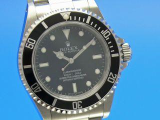 Rolex Submariner No Date Aus 2009 14060m - - Ankauf Von Rolexuhren Tel.  03079014692 Bild