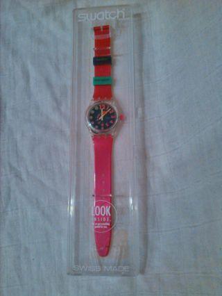 Swatch Look Uhr Bild