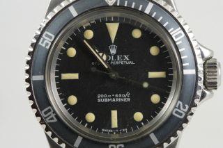 Rolex Submariner Ref.  5513 (1969/70) Bild