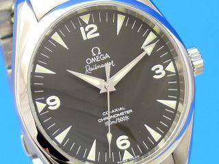 Omega Seamasteraqua - Terra Railmaster Co - Axial - Chronometer Bild