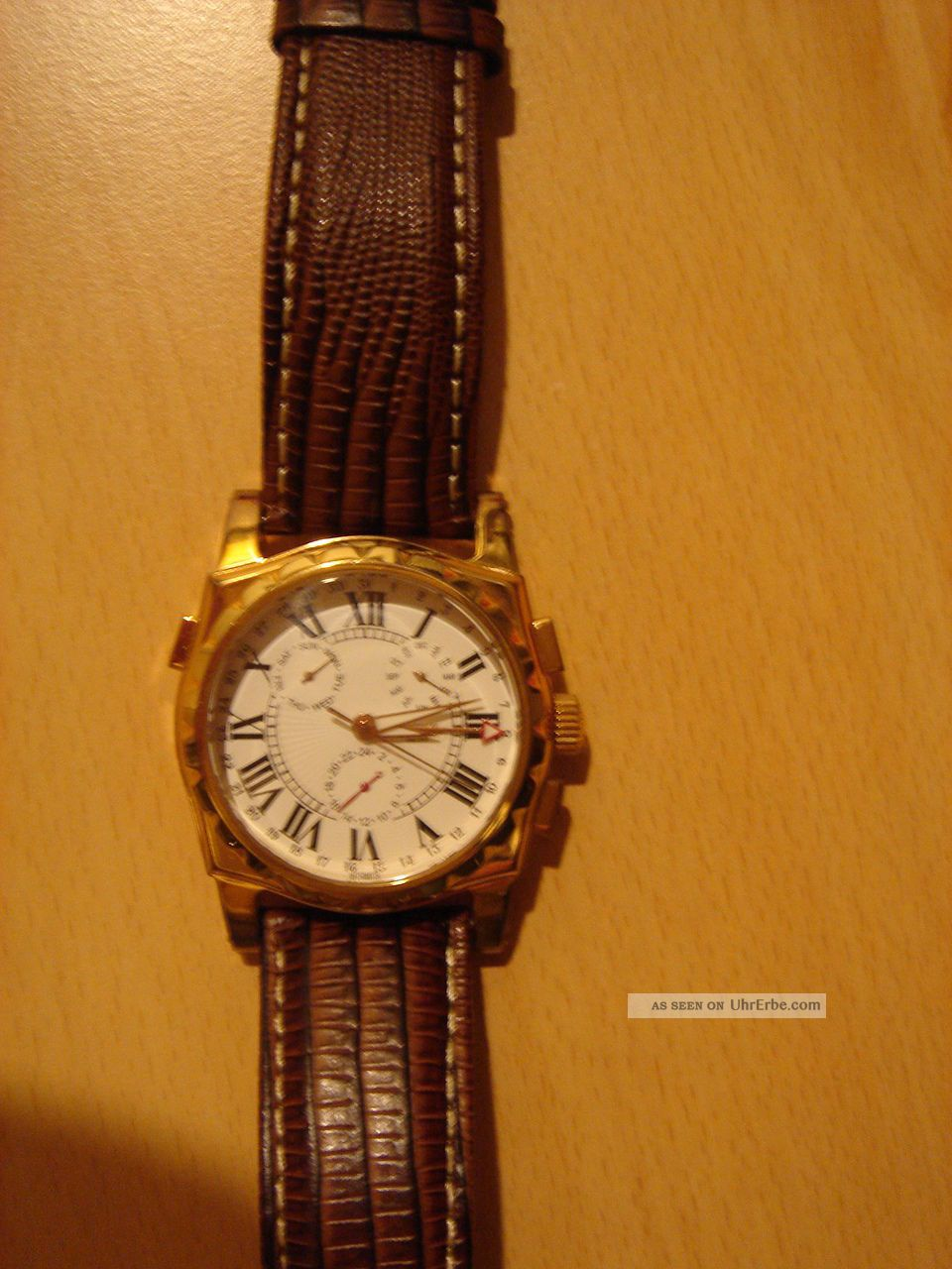 Herrenarmbanduhr Eichmüller Automatik Armbanduhren Bild