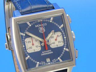 Tag Heuer Monaco Steve Mcqueen Cw2113 - - - Ankauf Von Luxusuhren - - - Bild