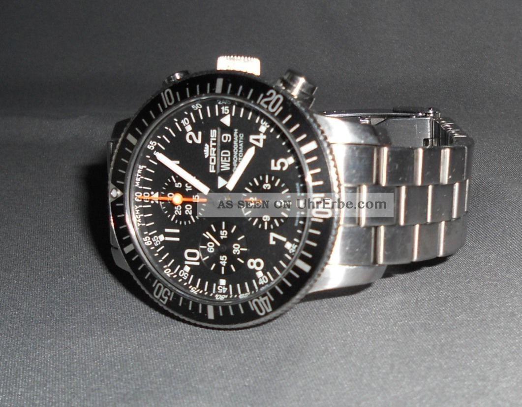 Fortis B - 42 Official Cosmonauts Chronograph Automatik Armbanduhren Bild