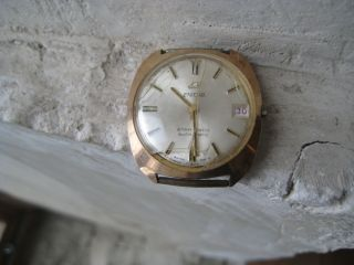 Enicar Automatic Star Jewels Ar 1145 For Repair Or Parts Bild