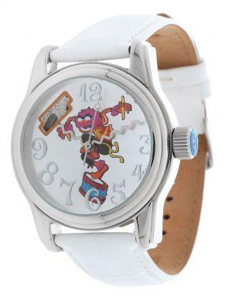 Disney Damen Armbanduhr,  Uhr,  Watch,  Tier Weiss Di - 094491 - D29 Bild