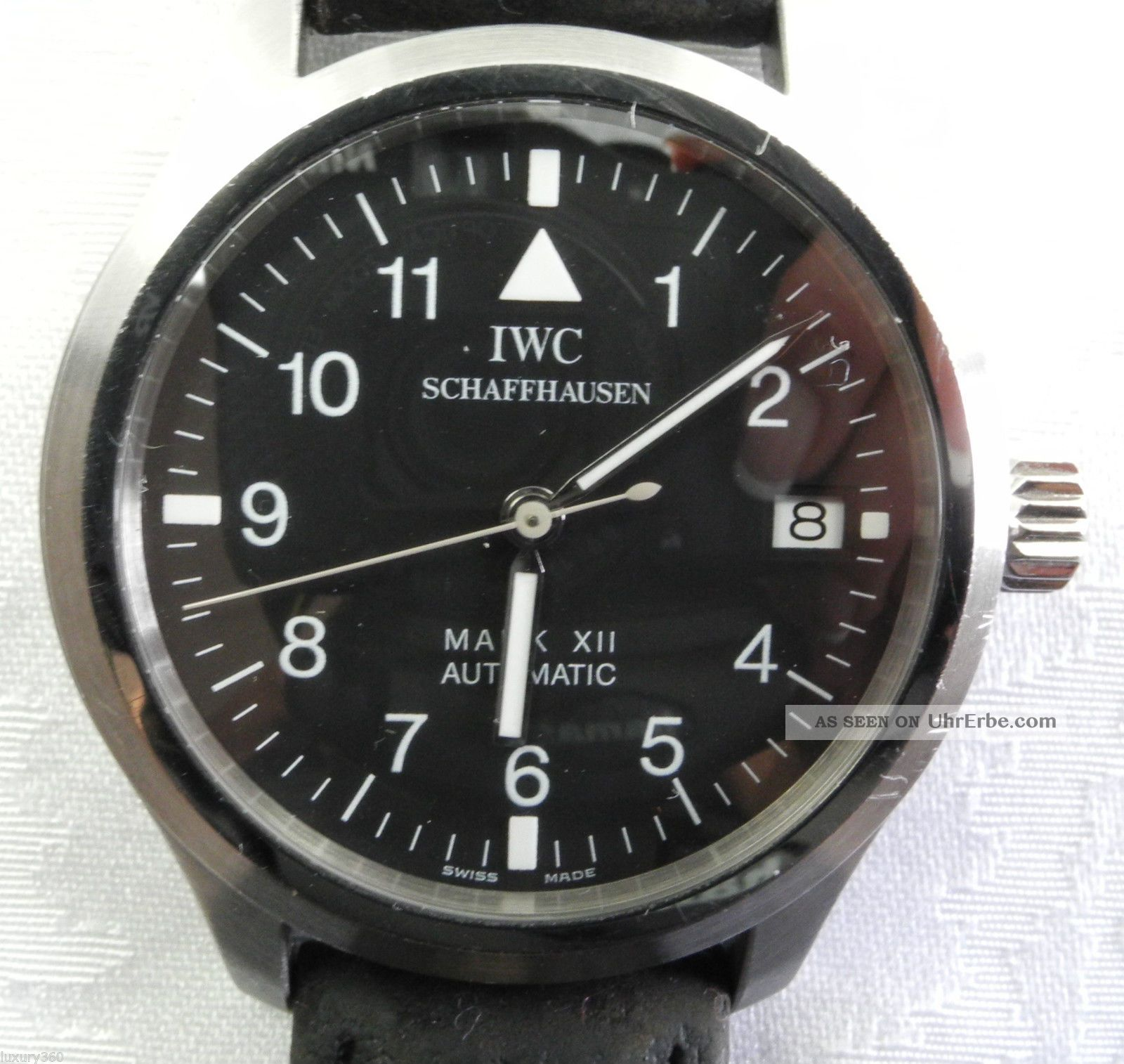 Iwc Schaffhausen Mark Xii Automatic Fliegeruhr Armbanduhren Bild