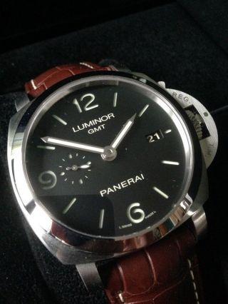 Panerai Luminor Pam 00320 Serie 1950,  Gmt Bild