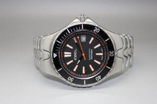 Ebel Sportwave Diver Stahl Uhr Bild