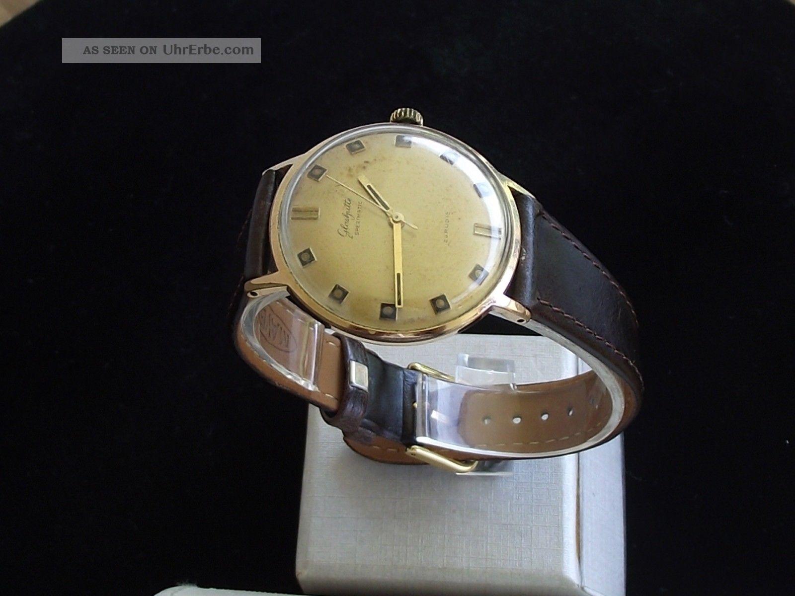 Große Gub GlashÜtte Spezimatc Herrenuhr - Kaliber 74 Armbanduhren Bild