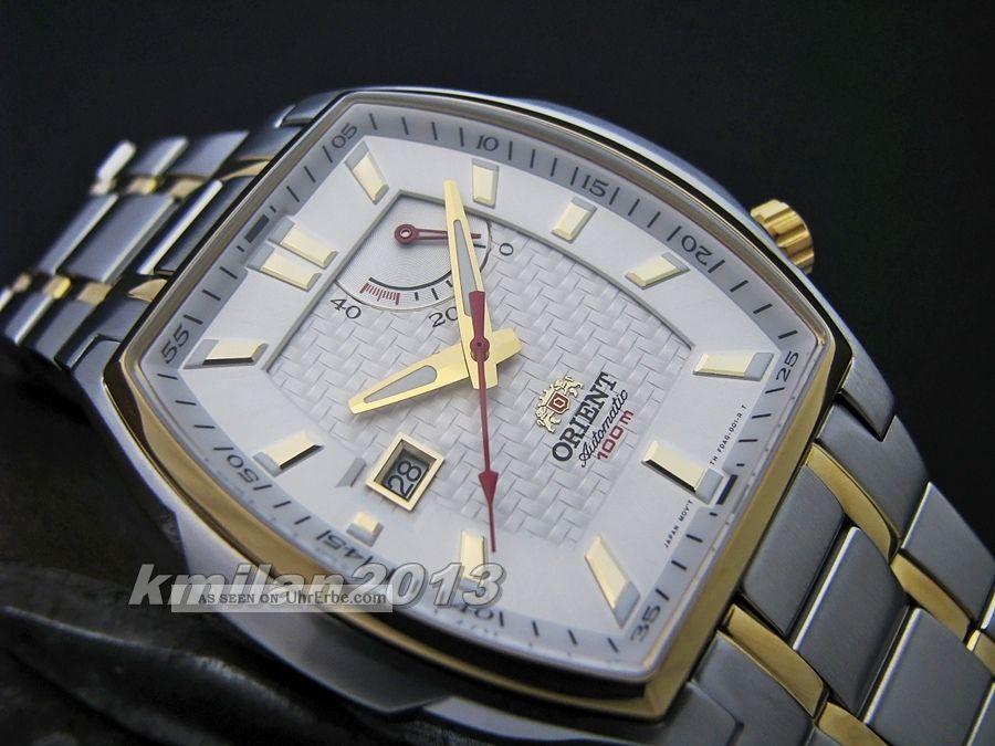 Orient Uhr Classic Automatik Herrenuhr Mit Power Reserve,  Wr: 100 M Ffdag003w0 Armbanduhren Bild