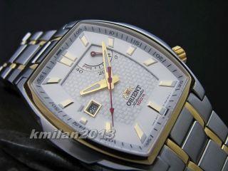 Orient Uhr Classic Automatik Herrenuhr Mit Power Reserve,  Wr: 100 M Ffdag003w0 Bild