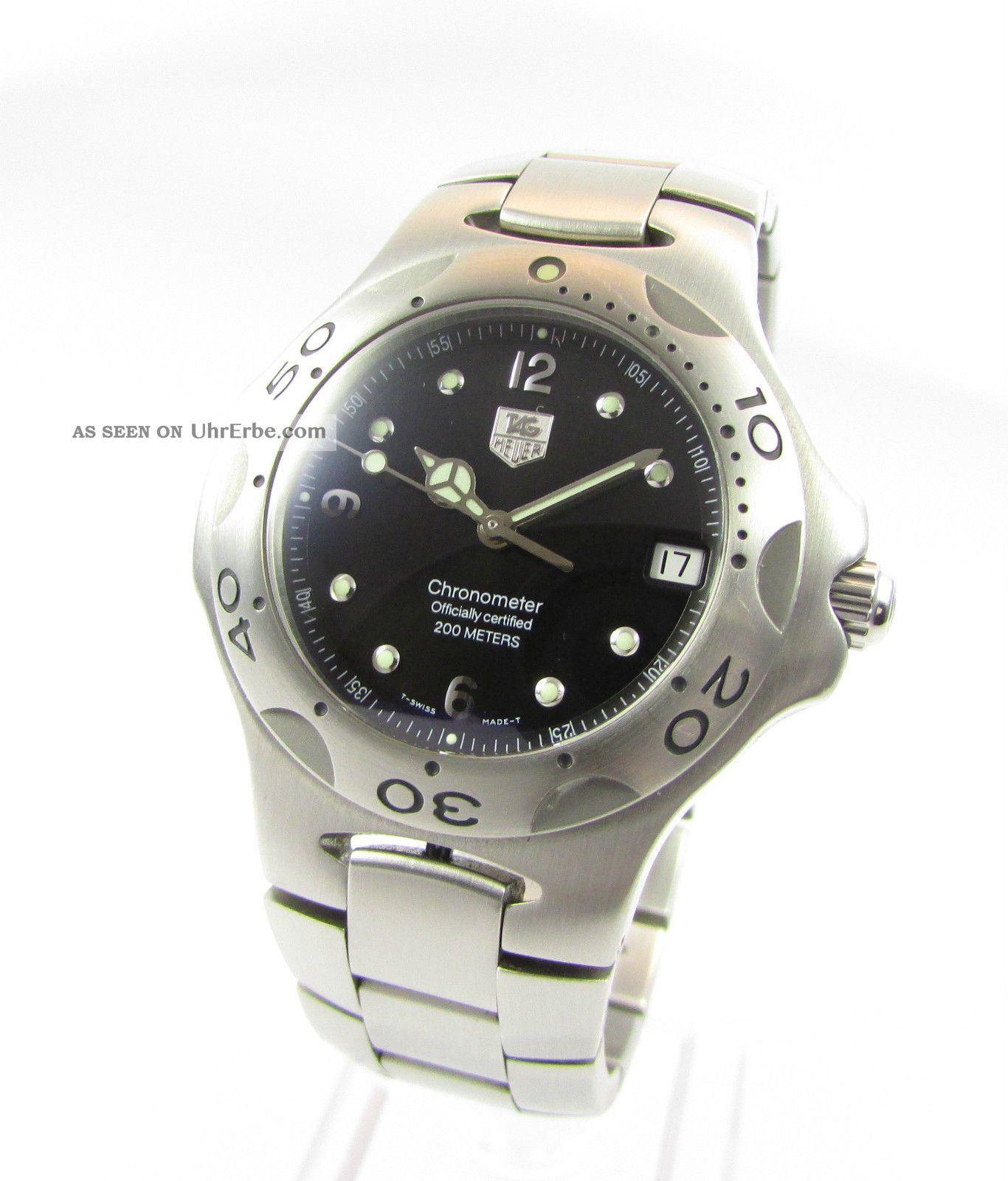 Tag Heuer Kirium Professional Automatik - Chronometer Zertifiziert - Topzustand Armbanduhren Bild