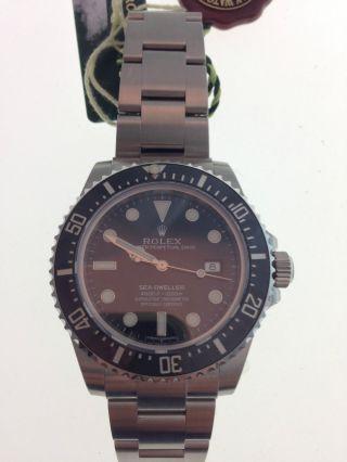 Rolex Sea - Dweller Uhr Ref.  116600 Papiere Box Bild