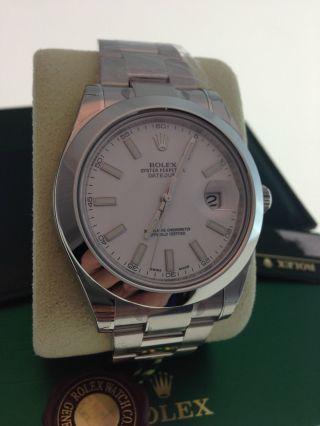 Rolex Datejust Ii Uhr Ref.  116300 Papiere Box Bild