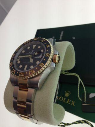 Rolex Gmt - Master Ii Uhr Ref.  116713ln Papiere Box Bild