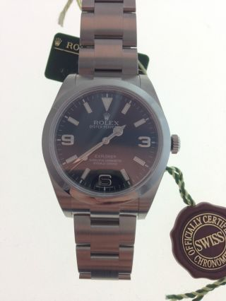 Rolex Explorer Uhr Ref.  214270 Papiere Box Bild