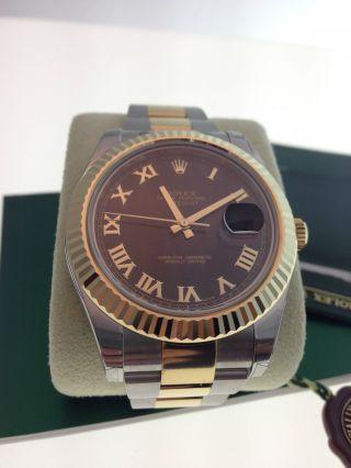 Rolex Datejust Ii Uhr Ref.  116333 Papiere Box Bild