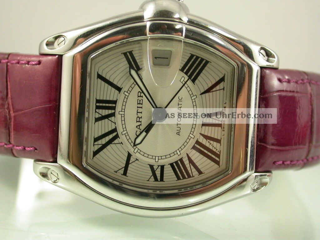 Cartier Herrenuhr Roadster Automatilk Ref.  2510 Armbanduhren Bild