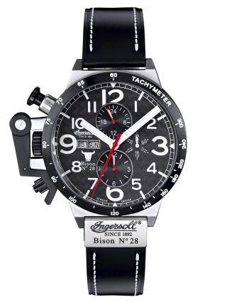 Ingersoll Uhr Bison Nr.  28 Herren - Automatikuhr In1607bk Bild