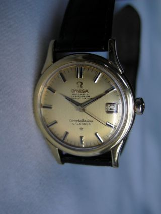 Omega Constellation Calendar Chronometer Cal.  504 18 Kt 750 Gold Automatic Bild