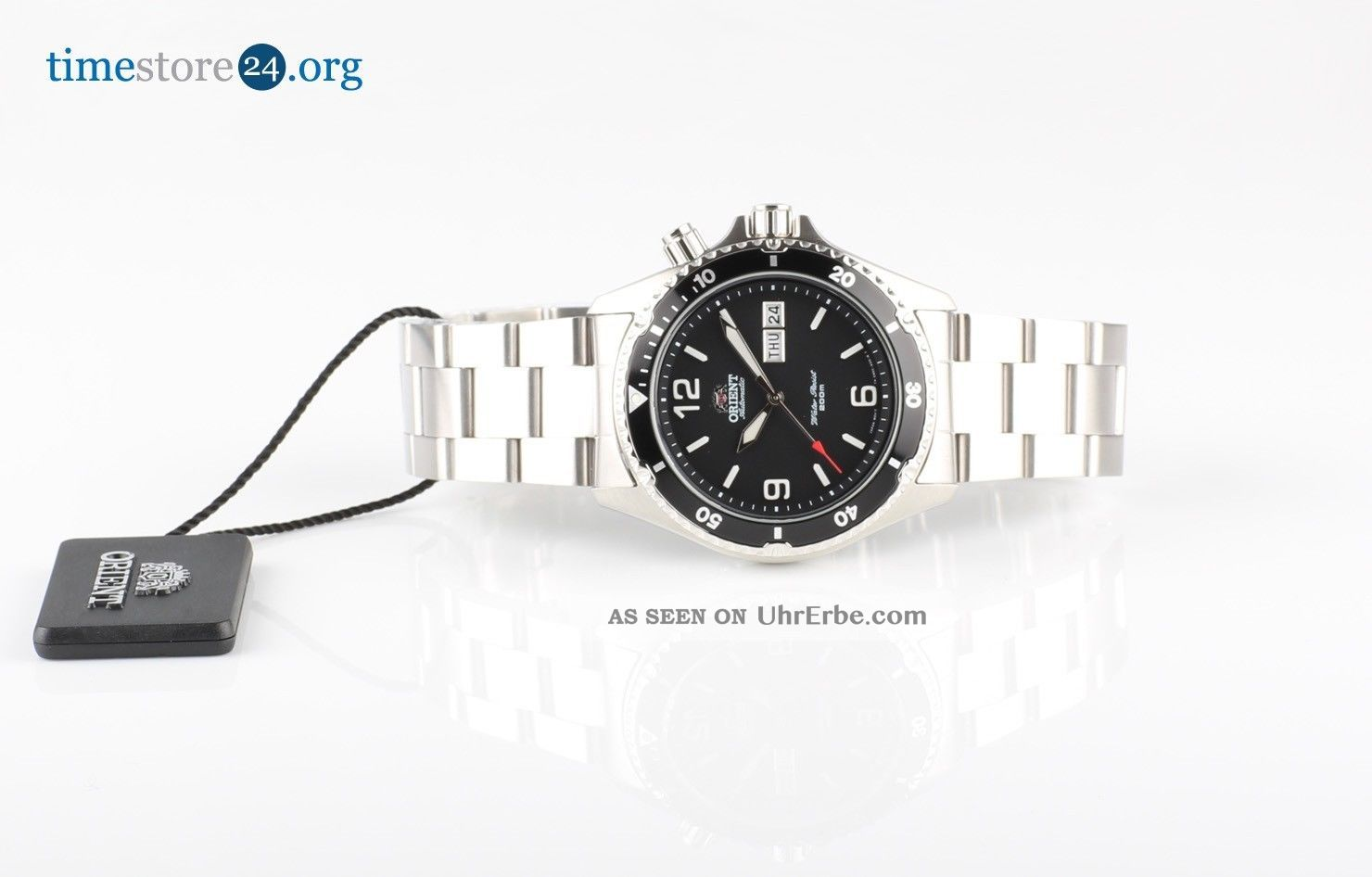 Herrenuhr Automatikuhr Orient Cem65001b Herrenuhr Automatik Edelstahl Uhr Armbanduhren Bild
