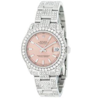 Rolex 178240 Brauch 7ct Diamanten Edelstahl Automatik Bild