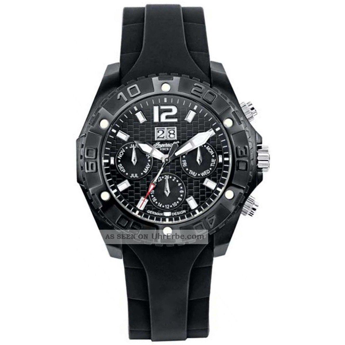 Ingersoll Yuca 1210 Bbk Herrenuhr Automatik Armbanduhren Bild